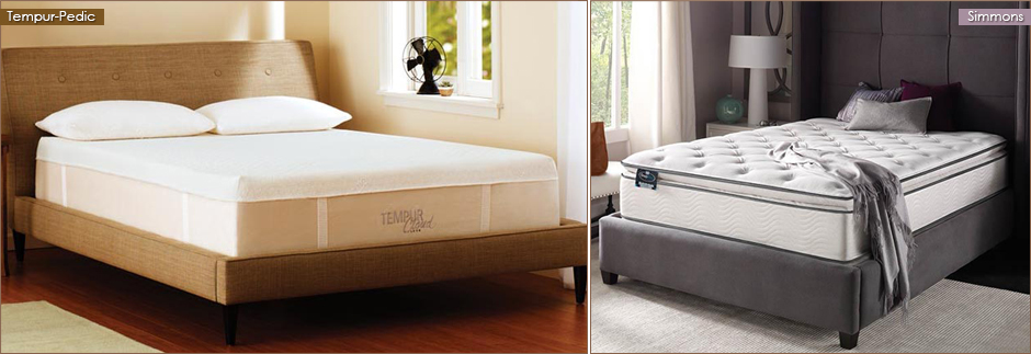 At Harbor Light Furniture & Flooring we carry mattresses from Simmons, Tempur-Pedic, and Corsicana.